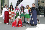 Inuyasha cosplayers
